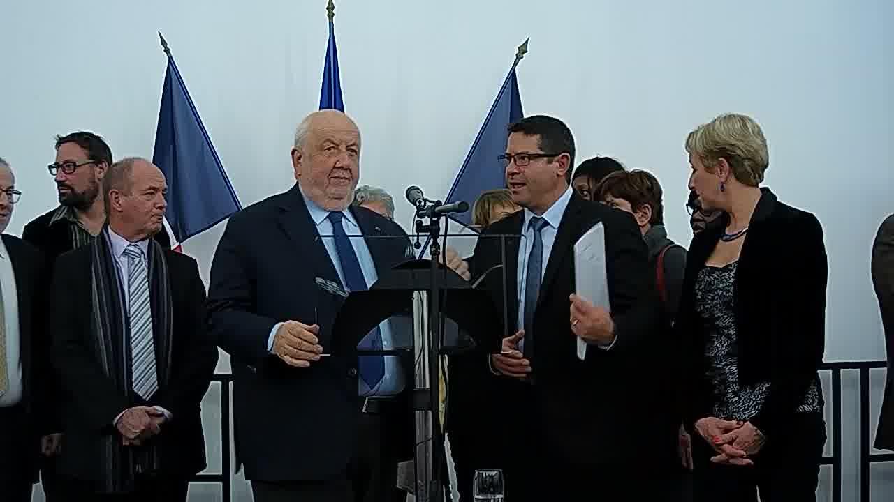 Voeux d'André ROSSINOT, Président de la Métropole du Grand Nancy