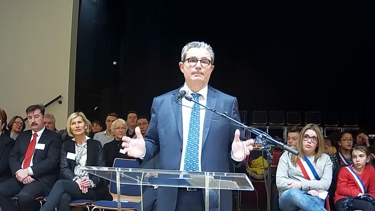 les voeux du maire - une vision nationale