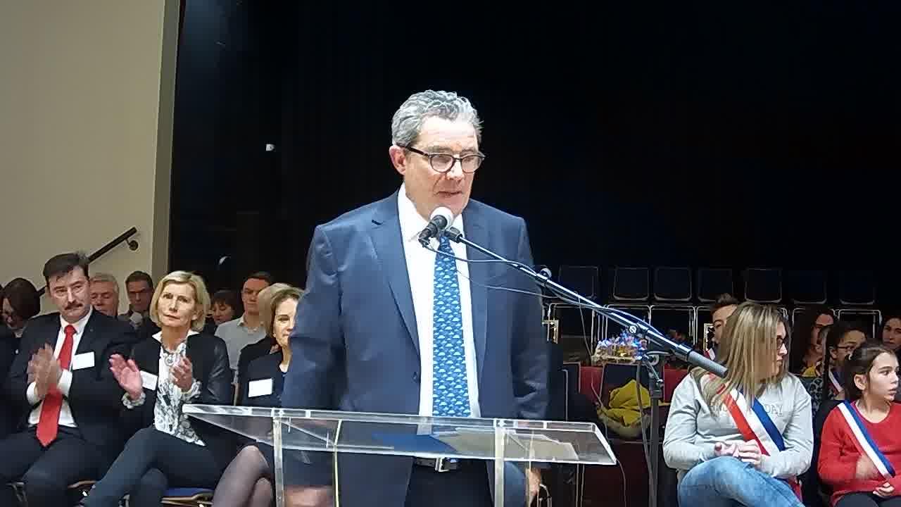 Allocution d'André ROSSINOT, président de la métropole du Grand Nancy