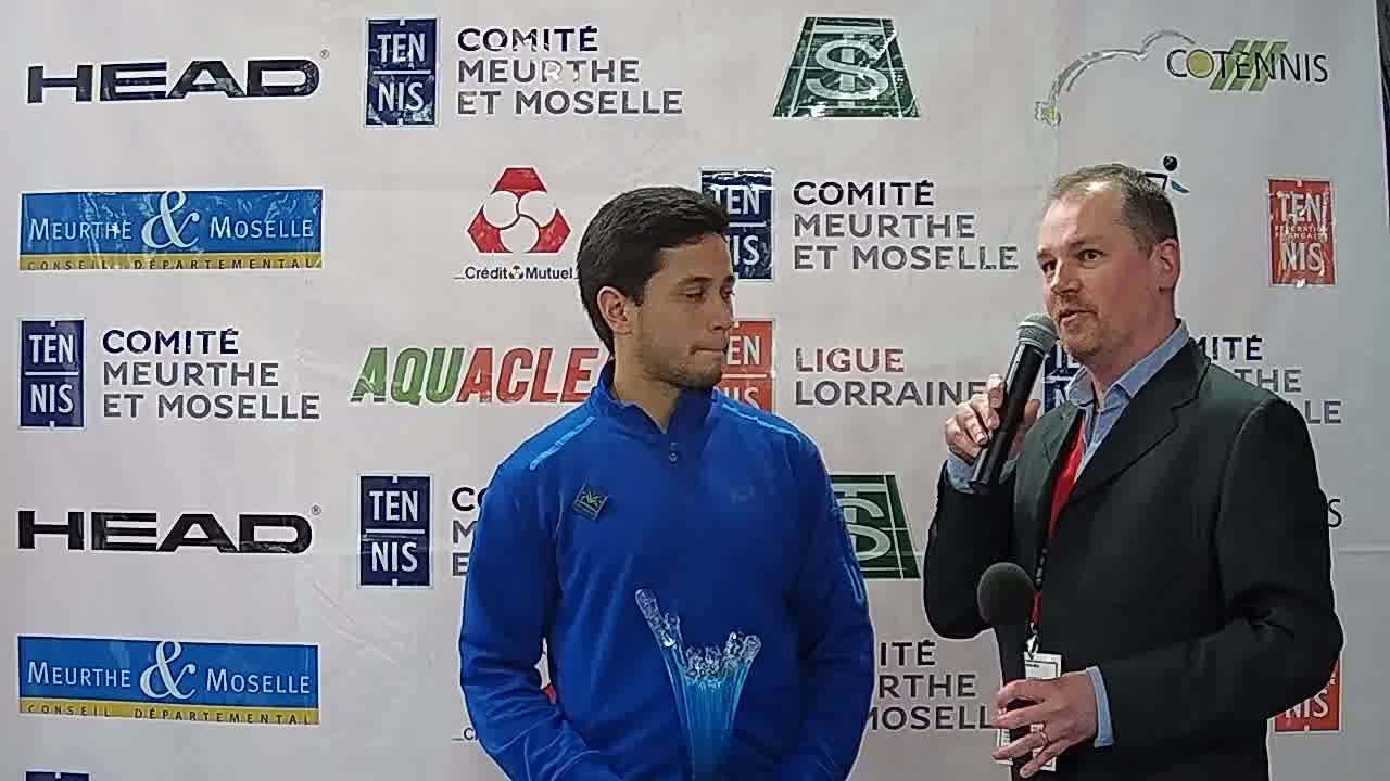 Interview du gagnant de la finale !
