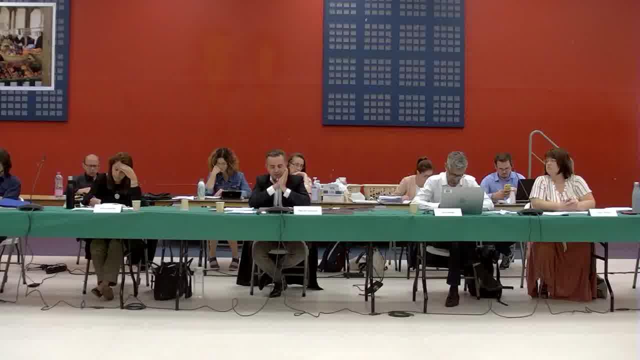 4. Désignation des membres du conseil municipal appelés à siéger dans les commissions municipales permanentes