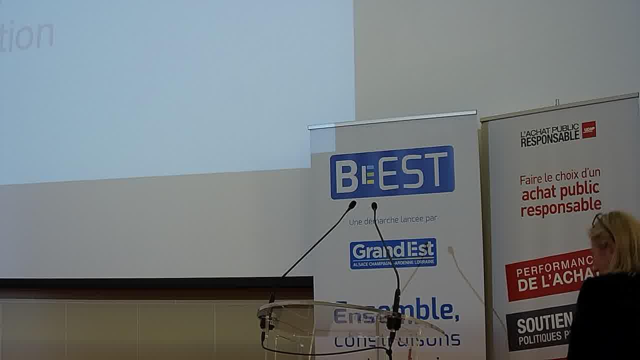 Isabelle HELIOT-COURONNE - Région Grand Est - Présidente de la Commission Innovation