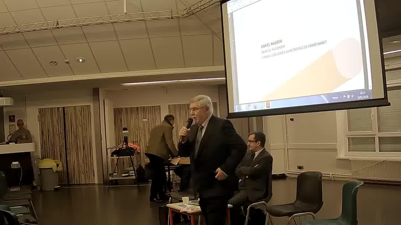 Le mot du maire de Houdemont - Daniel MAGRON