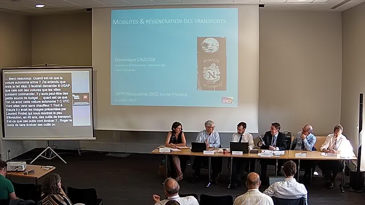 Dominique LAOUSSE - Chef de Groupe Innovation & Prospective Direction Innovation & Recherche de la SNCF