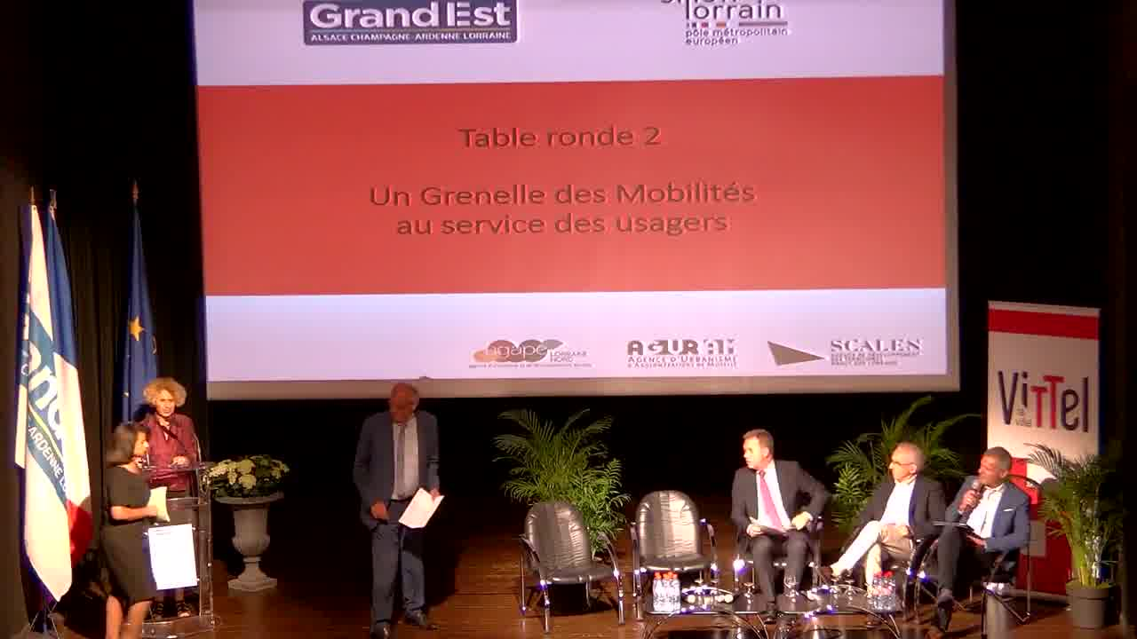 Introduction de la 2ème table ronde