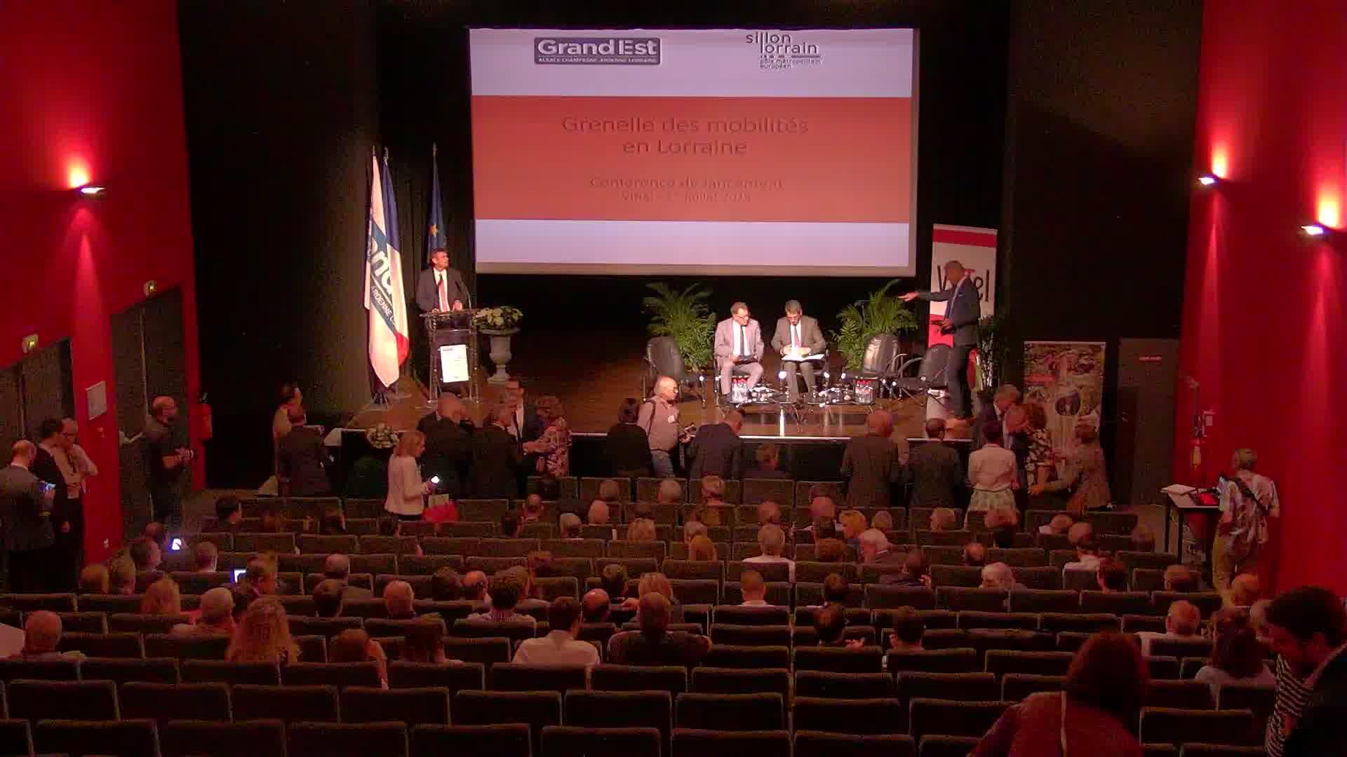 Grenelle des mobilités en Lorraine - 1er juillet 2019 - Vittel