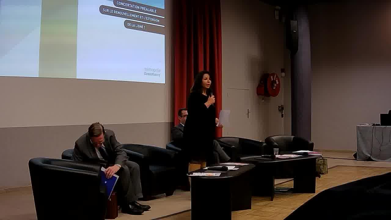 Presentation par Malika DATI / Discours de Laurent HENART